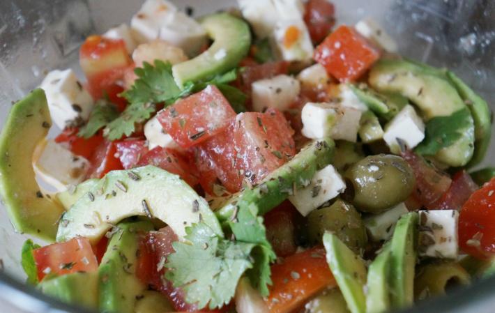 Вкусный салат из авокадо рецепты с простые