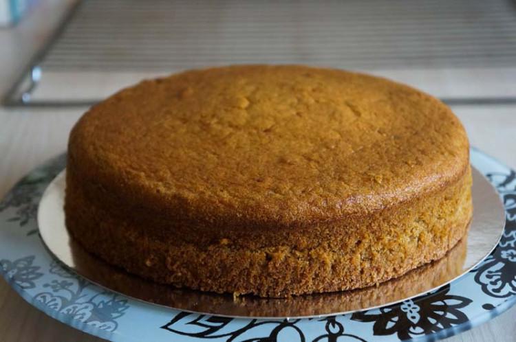 Тыквенно-карамельный торт
