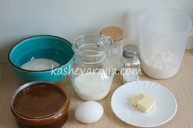 Капкейки с соленой карамелью