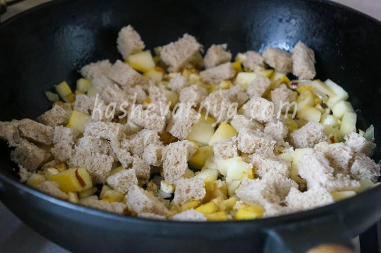 Рулет из индейки фаршированный яблочной начинкой