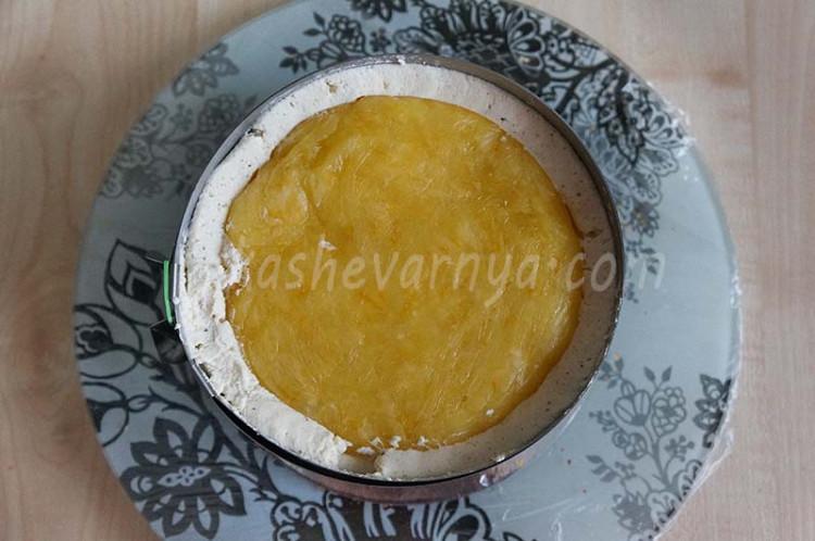 Торт «Имбирный пряник»