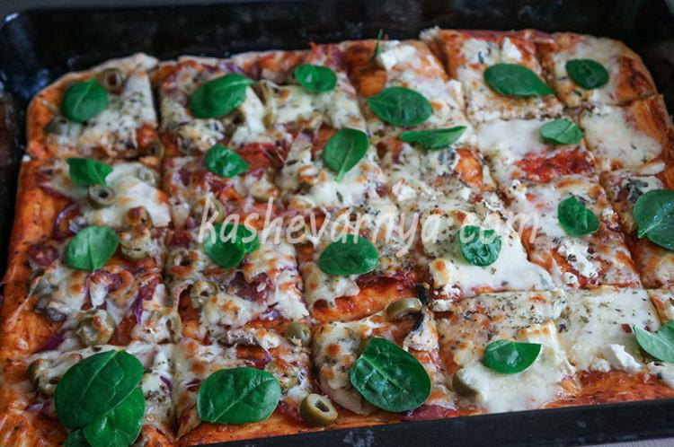 Как приготовить правильное тесто для пиццы в домашней духовке?