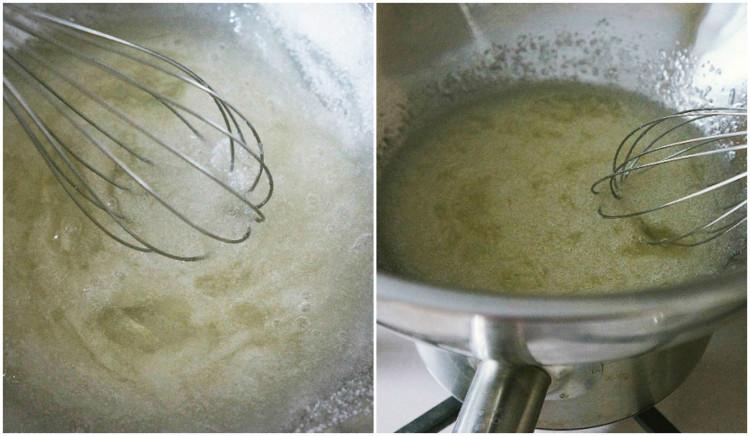 Масляный крем на основе швейцарской меренги