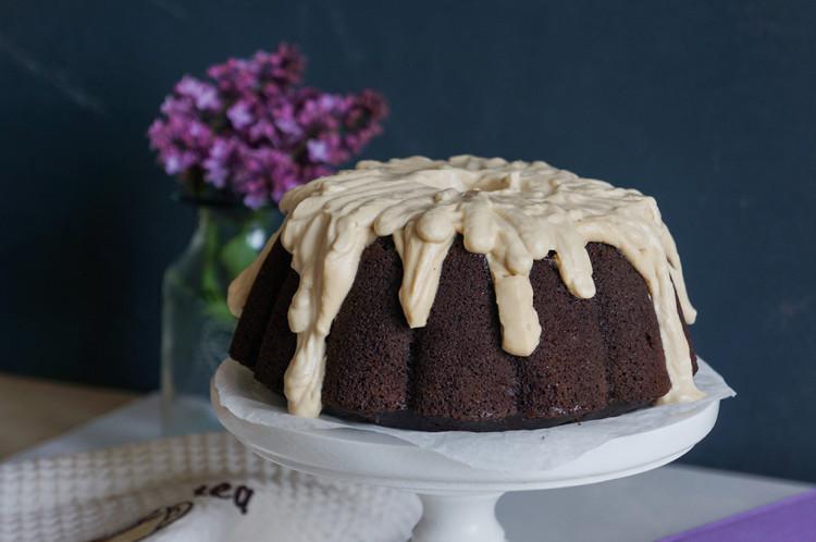 Шоколадно-кофейный бандт кекс (Bundt cake)