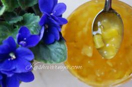 Самое необычное варенье из кабачков с лимоном рецепт с фото
