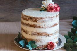 Торт с открытыми коржами рецепт