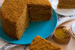 Медовик рецепт с фото пошагово
