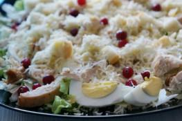 Салат цезарь с курицей пошаговый рецепт