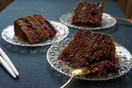 Торт шоколадный Наполеон рецепт