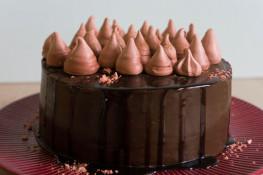 Торт шоколадно вишневый пошаговый рецепт с фото