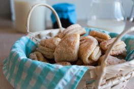 Творожное печенье треугольники пошаговый рецепт
