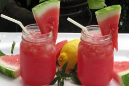 Лимонад из арбуза рецепт с фото