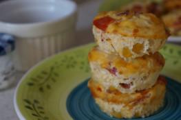 Яичные маффины к завтраку рецепт в духовке пошагово