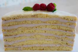 Йогуртовый крем для бисквитного торта